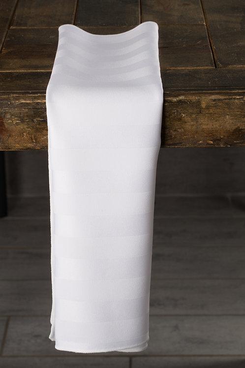 Imperial Stripe White Napkin