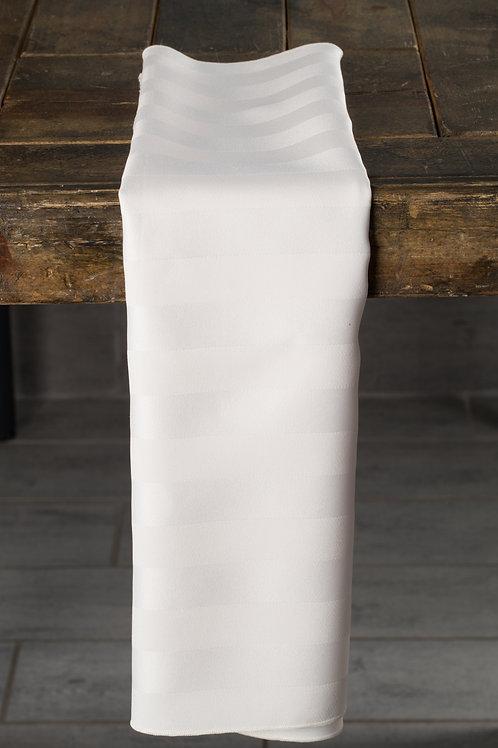 Imperial Stripe Ivory Napkin