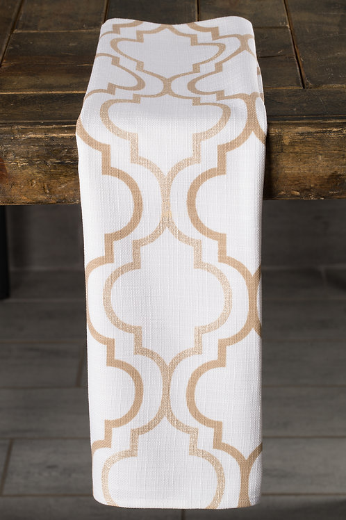 Specialty Gold Geometric Foil Napkin