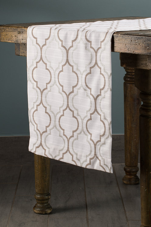 Specialty Gold Geometric Foil  Runner