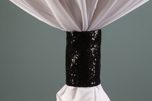 Specialty Black Sequins Cuff
