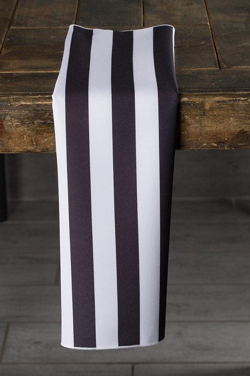Specialty Black and White Stripes Napkin