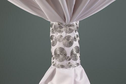 Specialty Silver Concentric Cuff