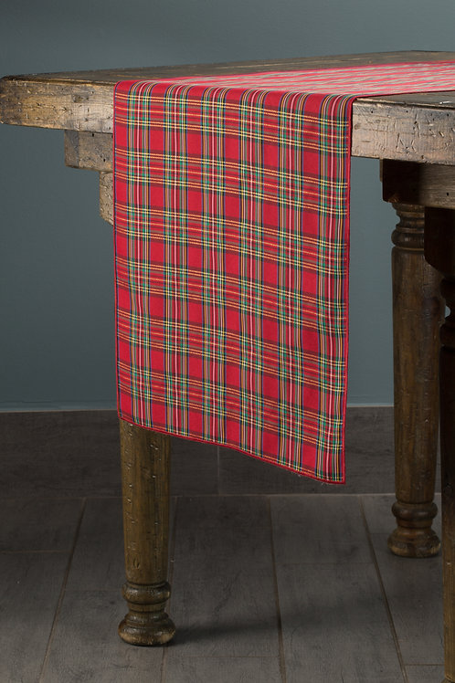 Specialty Holiday Plaid Runner