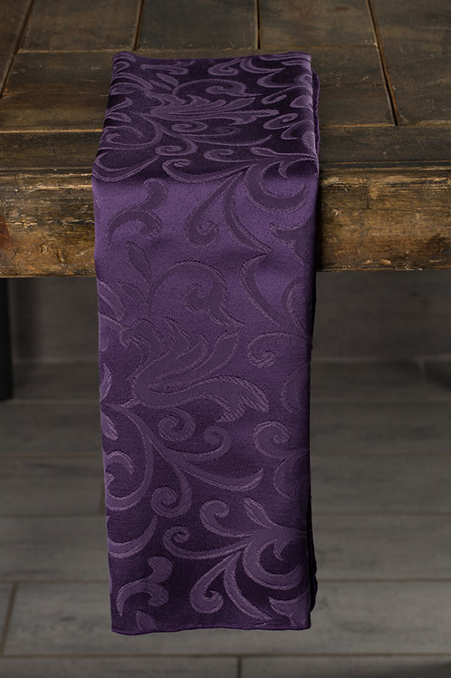 Specialty Purple Somerset Damask Napkin