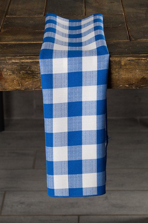 Picnic Check Blue Napkin