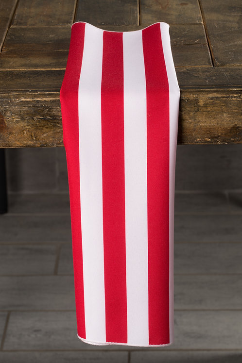 Specialty Red and White Stripes Napkin