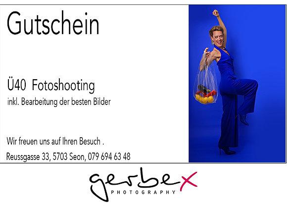 """Gutschein   """"Ü40"""""""