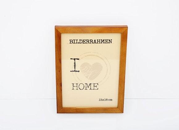 "Bilderrahmen  "" I Love Home"""