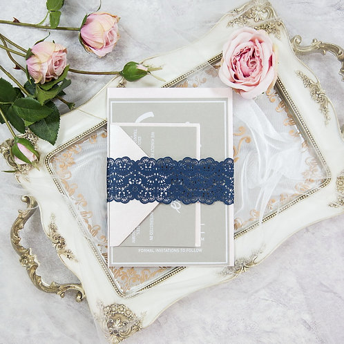 Elegant Lace Belly Band