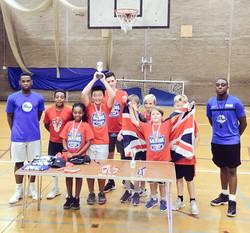 Team GB Summer Camp Champions