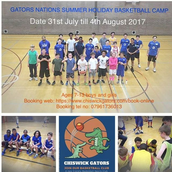 Gator Nations summer holiday basketball camp