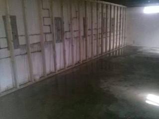 Wet Basement? Keep moisture out!