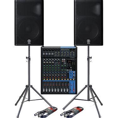 yamaha-dxr15-tops-and-mg12xu-mixing-desk