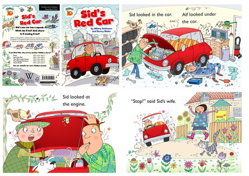Sid's Red Car