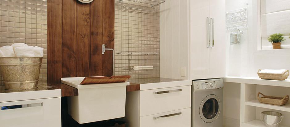 Como organizar e decorar a lavanderia