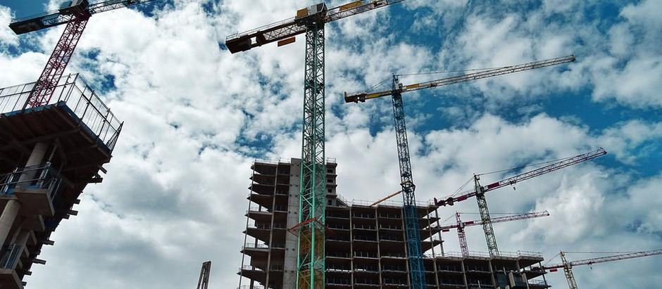 O boom da construção civil