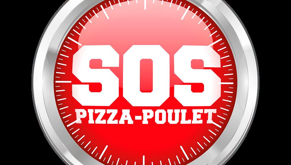 Logo SOS PIZZA POULET livraison pizza Cannes