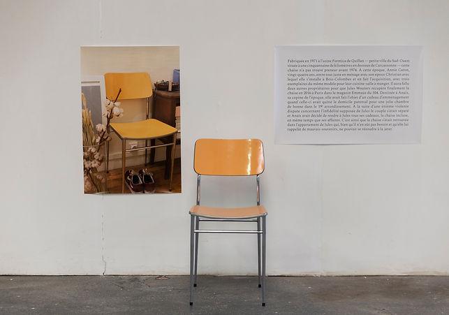 Une et trois chaises, Jules Wouters - EX
