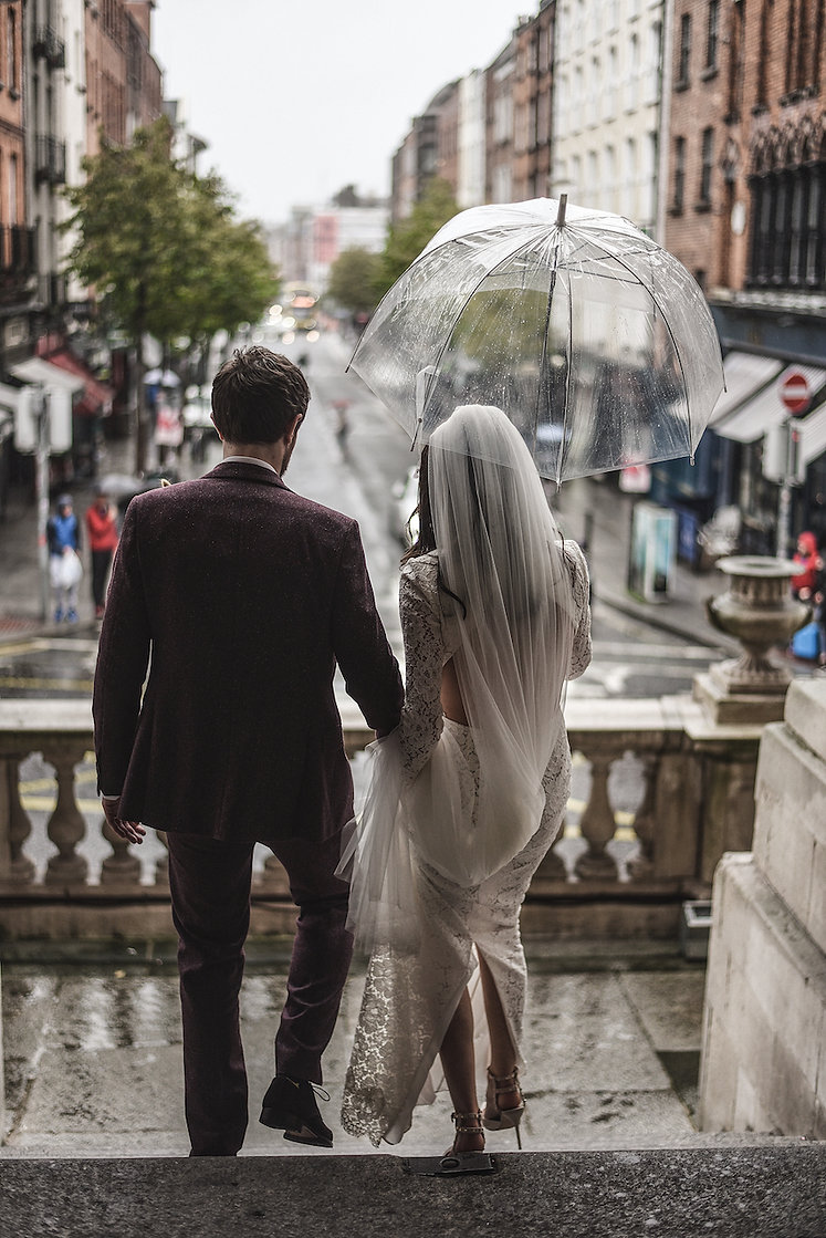 Dublin wedding photographer; Dublin city