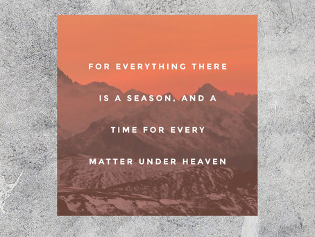 God Knows Your Season!