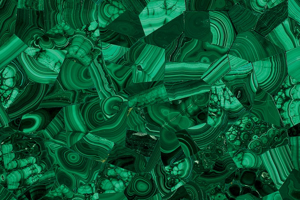 green malachite original