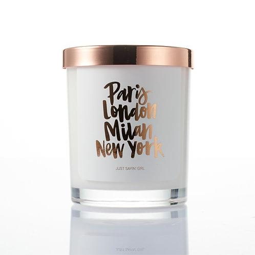 Soy Candle | Paris, London, Milan & New York