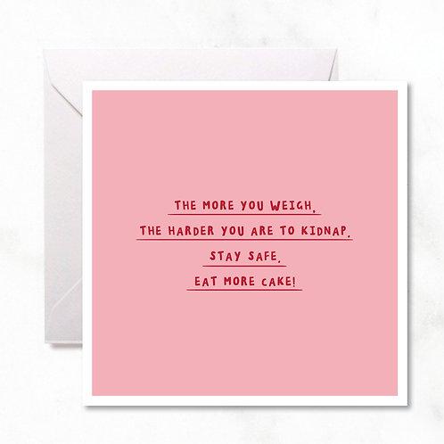 Greeting Card: Eat Cake