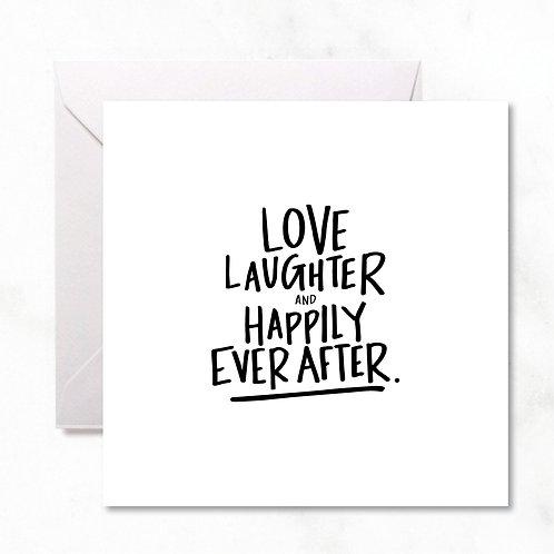 Greeting Card: Love