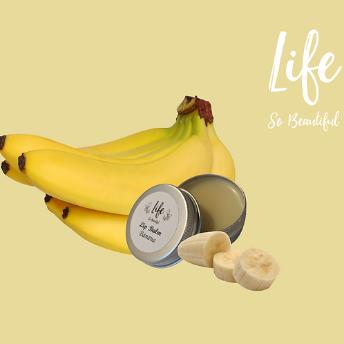 Softening Banana Lip Balm