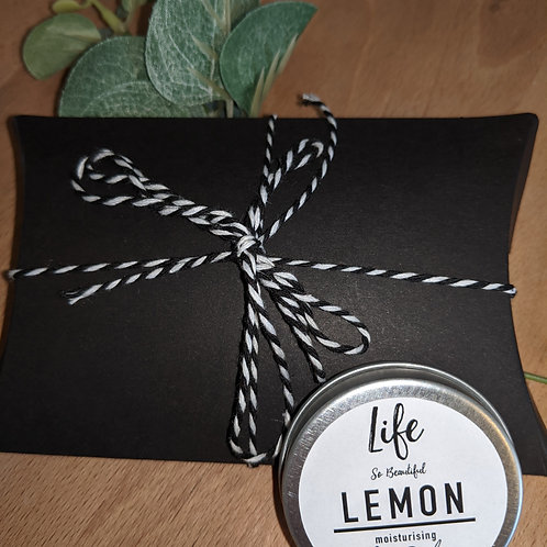 Life So Beautiful Gift Wrapped Lemon Lip Balm