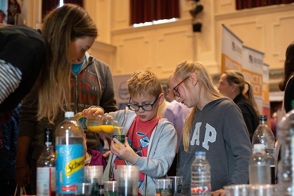 Young people enjoying STEM