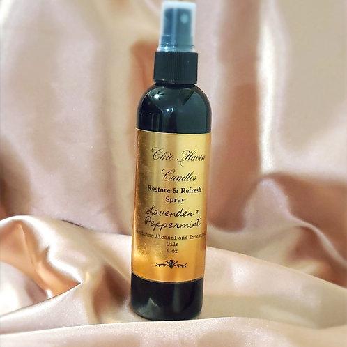 Lavender & Peppermint Restore & Refresh Spray