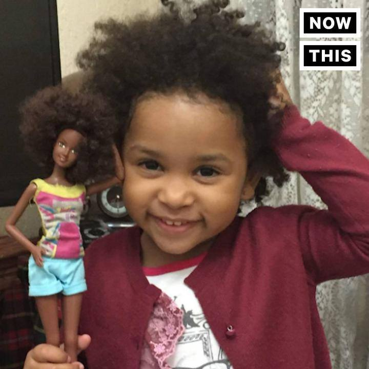 These Dolls Showcase The Beauty Of Natural Hair