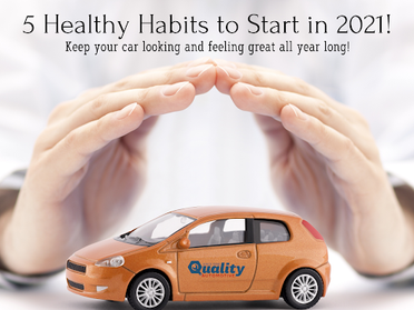 5 Healthy Habits To Start in 2021 For Your Car