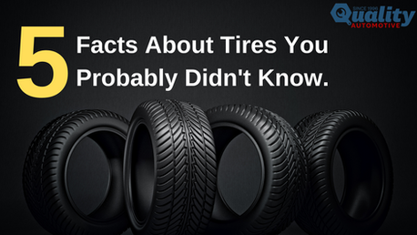5 Facts You Probably Didn't Know About Tires