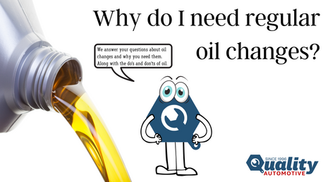 Why do I need regular oil changes?