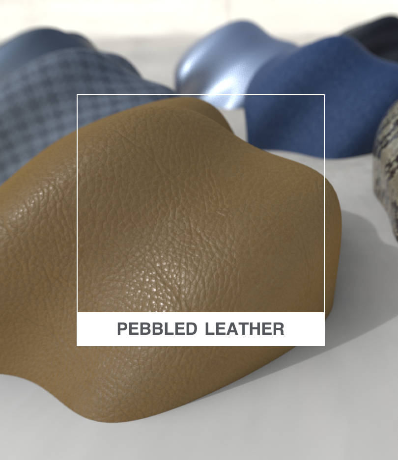 Pebbled Leather