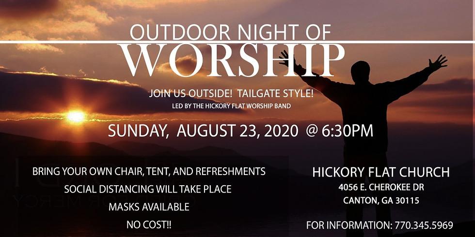 Outdoor Night of Worship
