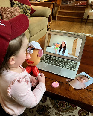 Virtual classes speech/language baby