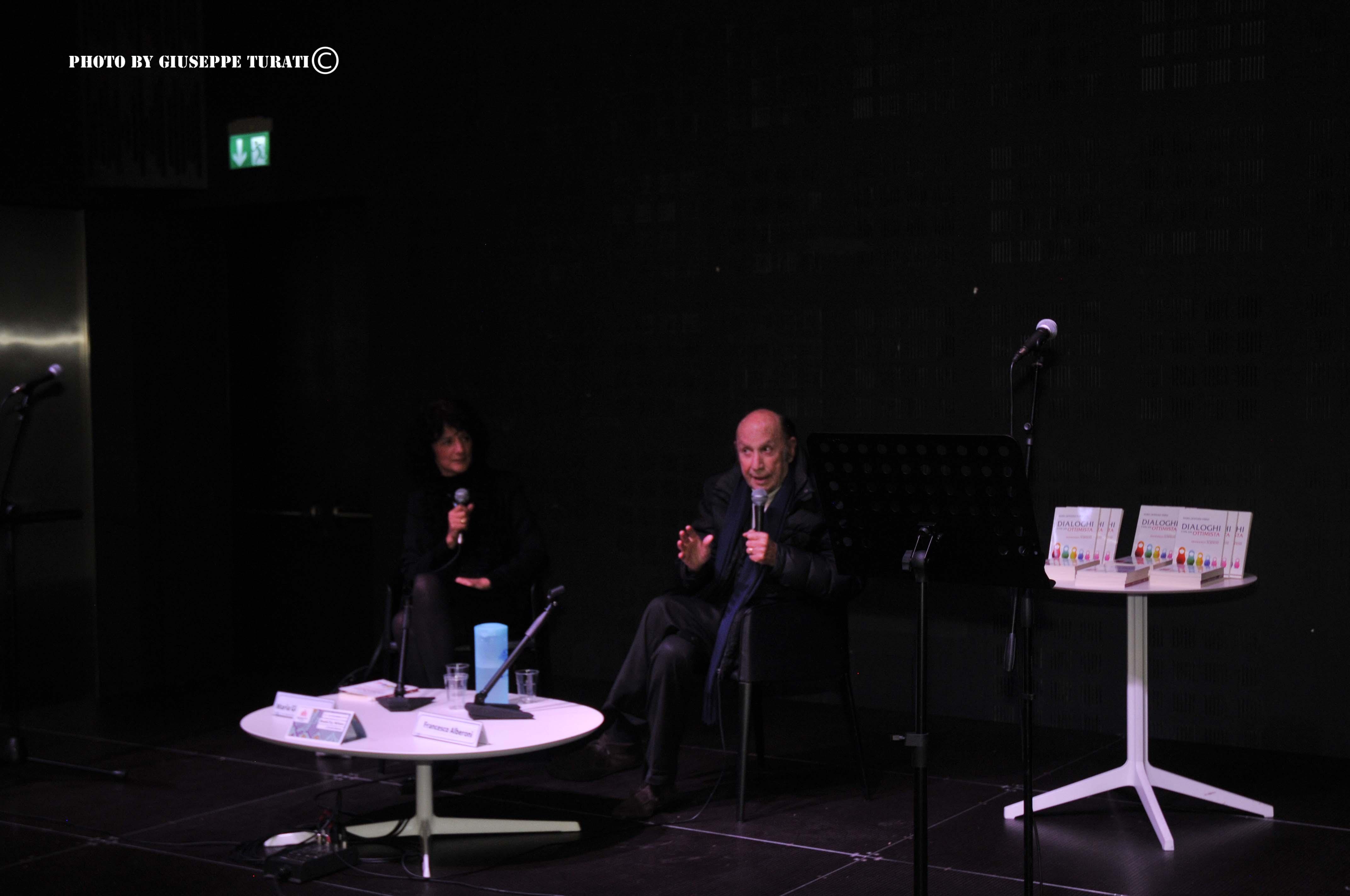 con Francesco Alberoni al Book City