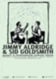 Jimmy Aldridge Sid Goldsmith Tour Poster