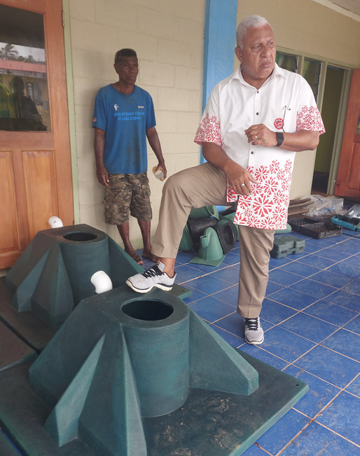 Building sanitation with a Prime foundation