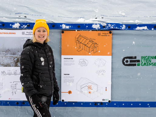 Waste For Warmth: keeping out the cold with plastic