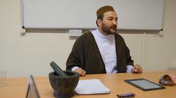 Sh.Atabek teaching Herbal