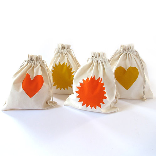 ORGANIC COTTON GIFT POUCH