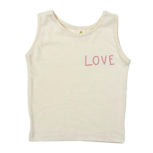 LOVE | ORGANIC COTTON TANK TOP