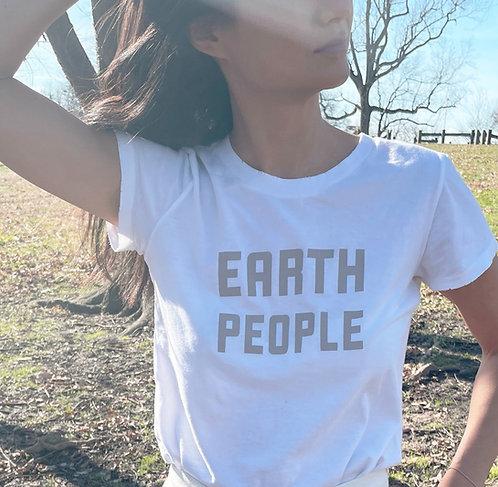 EARTH PEOPLE | COTTON T-SHIRT: WOMEN