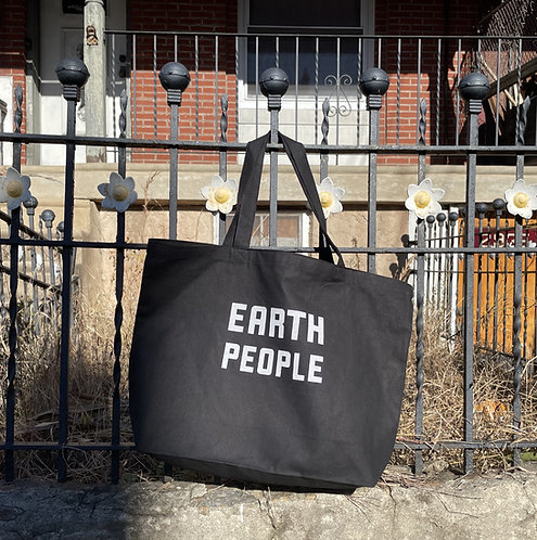 EARTH PEOPLE | COTTON TOTE