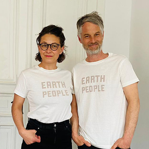 EARTH PEOPLE   ORGANIC COTTON T-SHIRT: UNISEX